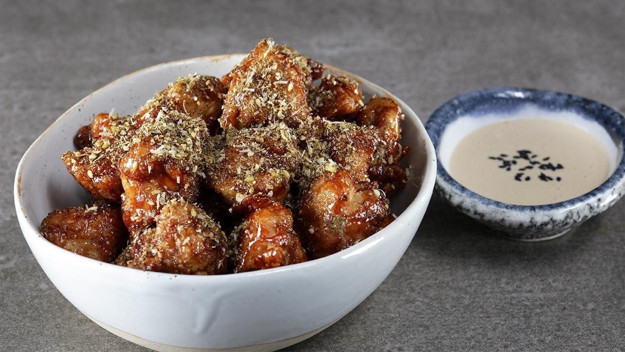 الدجاج بالزعتر، الثوم والعسل – وصفة