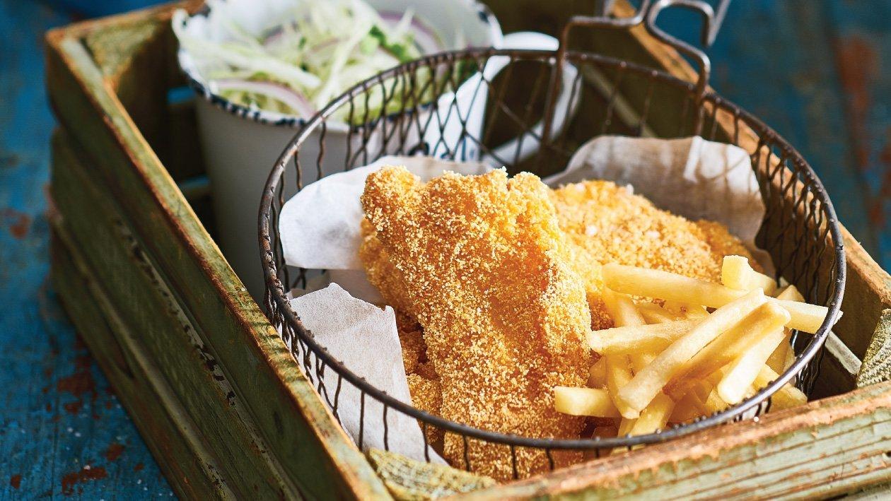 السمك والبطاطا المقلية من ولاية لويزيانا – وصفة