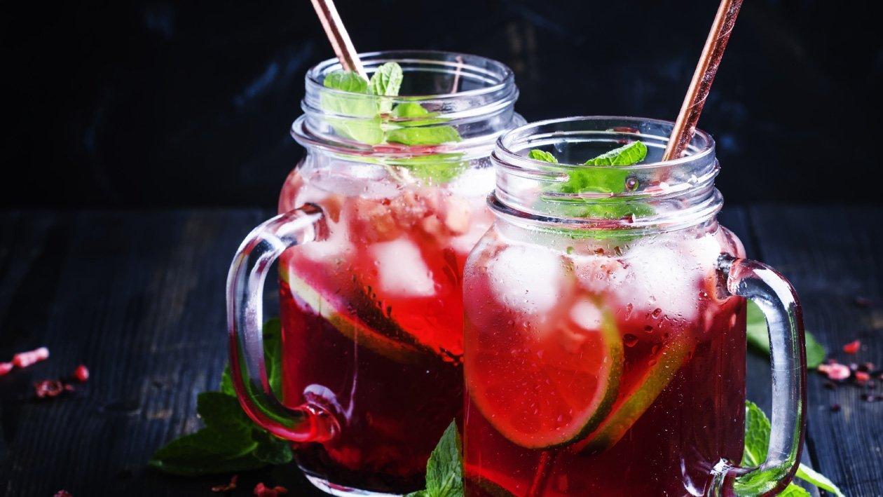 الشاي المثلج بالكركديه – وصفة