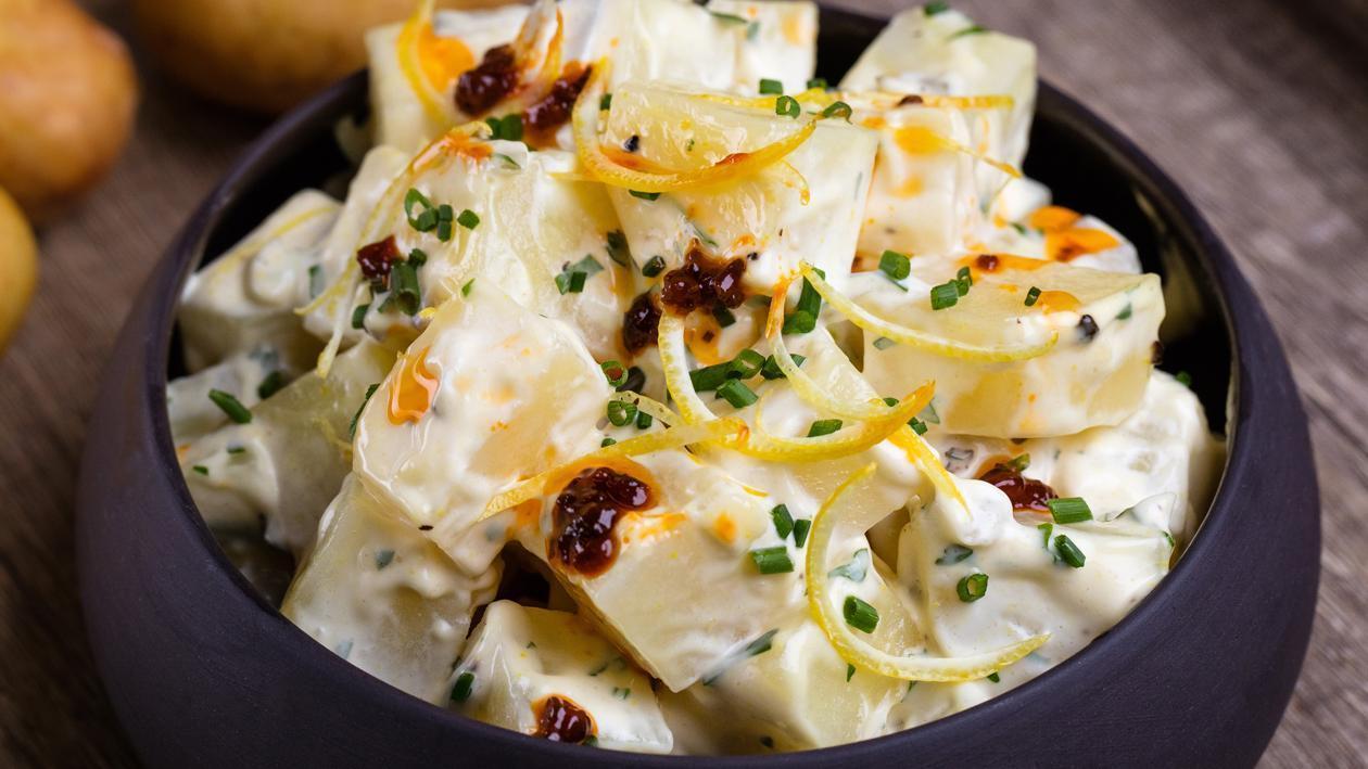سلطة البطاطس مع مايونيز هيلمانز – وصفة