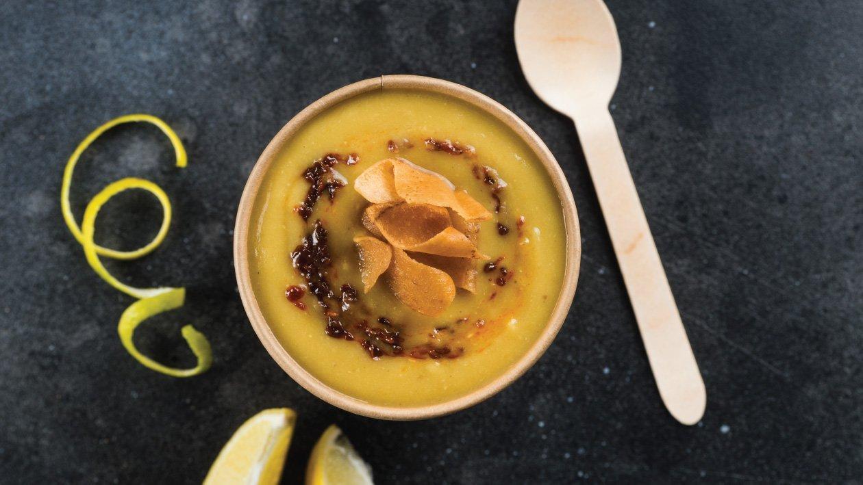 حساء دويتو العدس والبيستو – وصفة