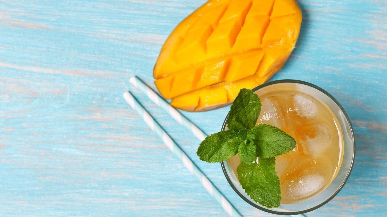 شاى المانجو المثلج – وصفة