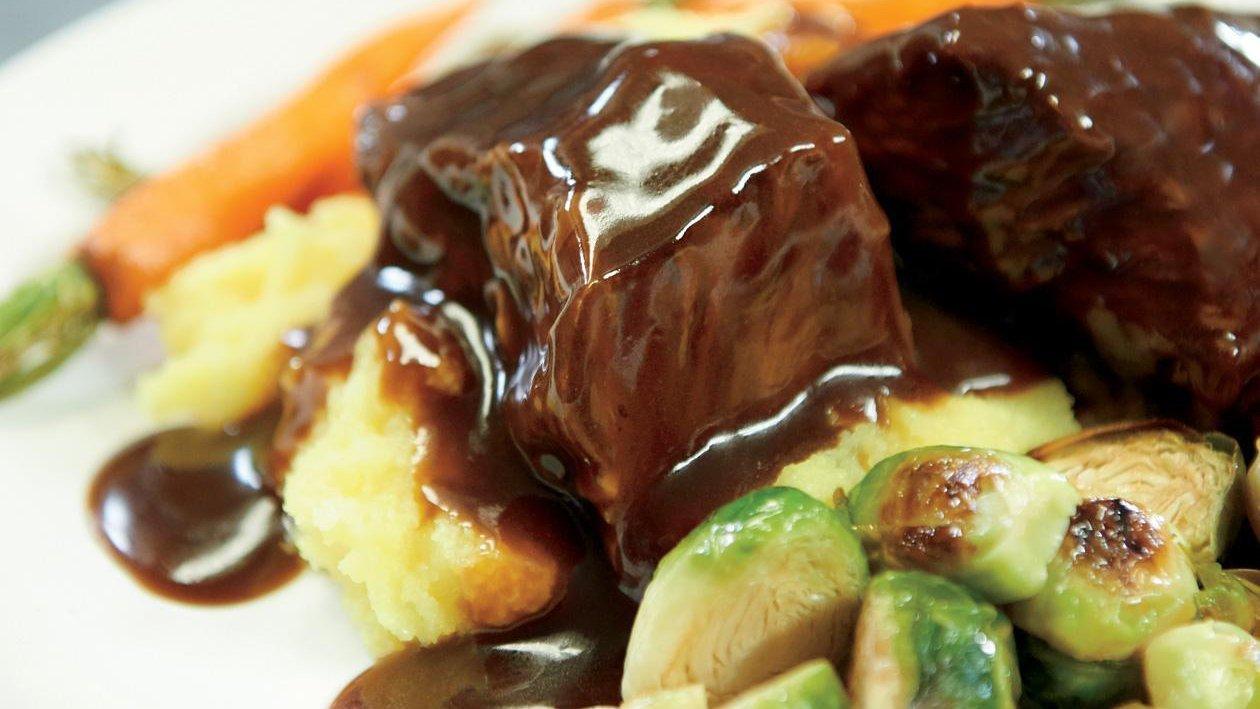 ضلوع كورية مطهوة – وصفة