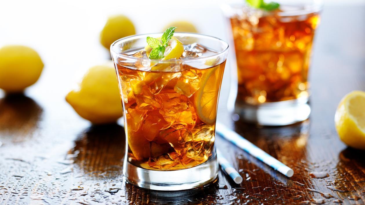 مشروب ليبتون المعدّ طازجاً بالليمون والنعناع – وصفة
