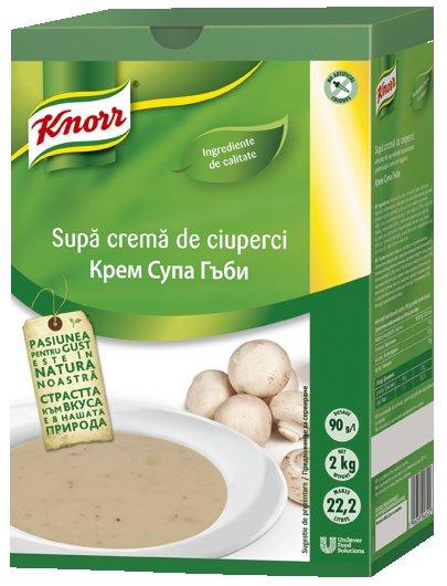 Knorr Гъбена крем супа -