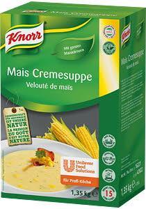 Knorr Царевична крем супа -