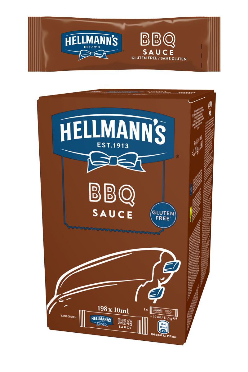 Hellmann's Барбекю сос доза 10 ml -