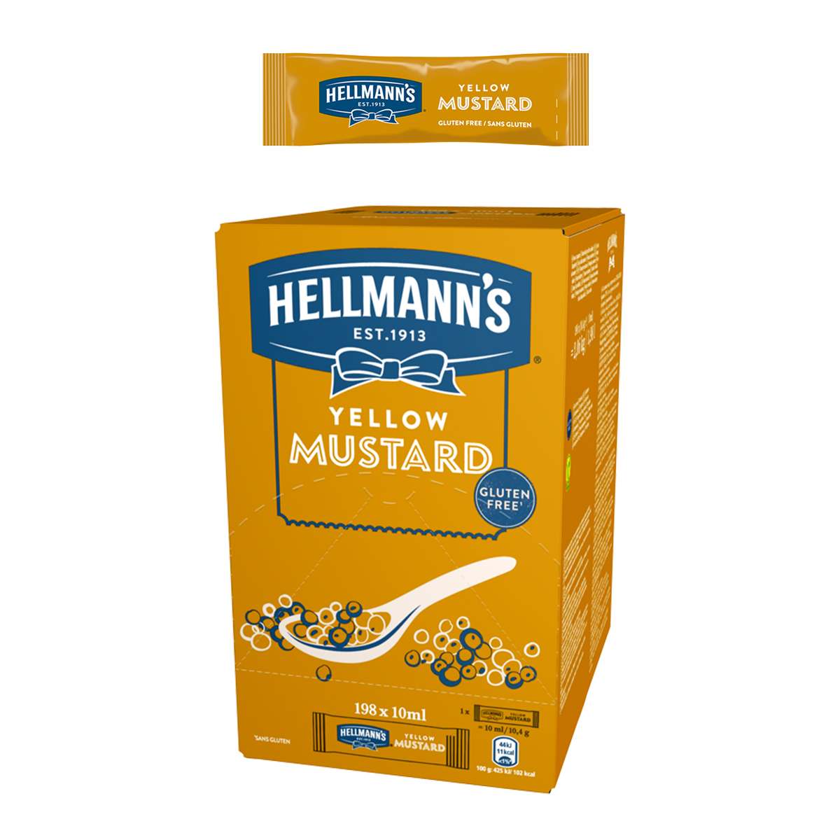 Hellmann's Горчица доза 10 ml