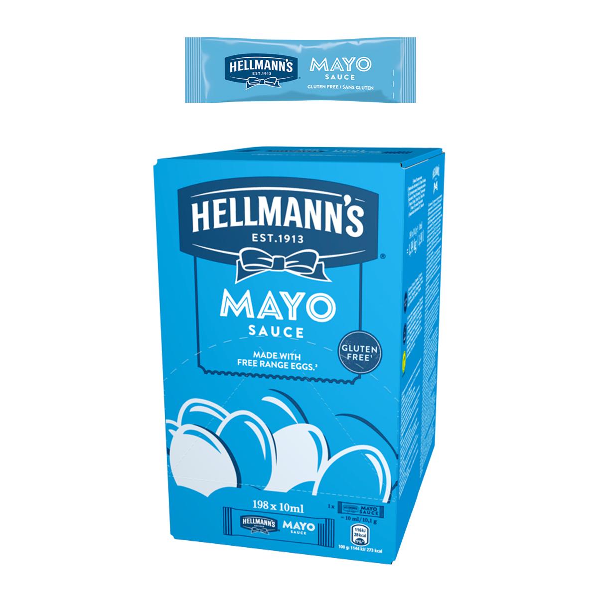 Hellmann's Майонеза Light доза 10 ml -