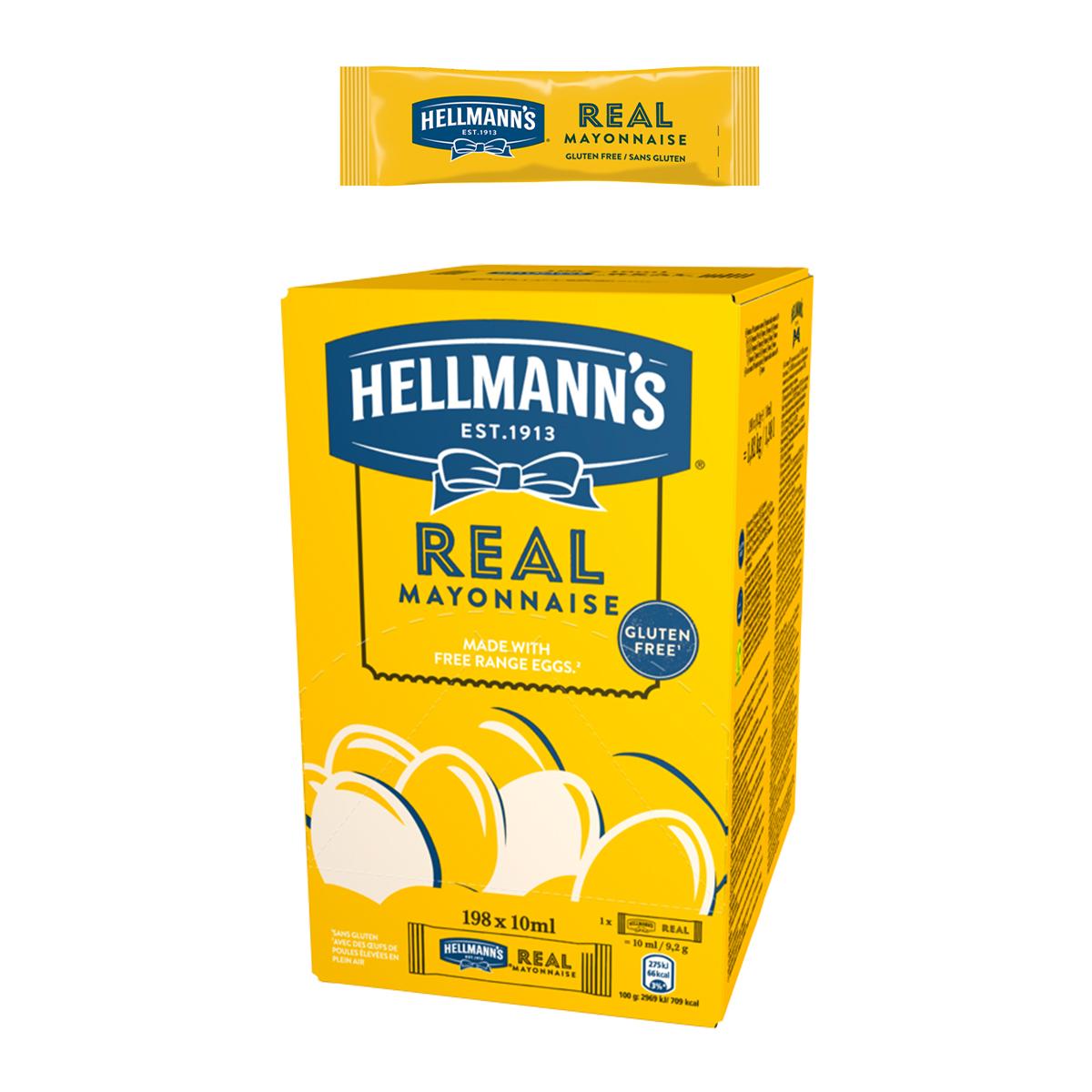 Hellmann's Майонеза Real доза 10 ml -