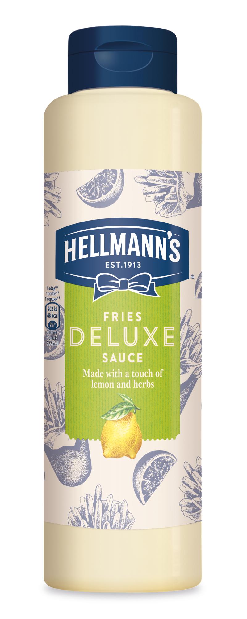 Hellmann's Майонезен сос Фрайс 850 ml - Street Food с качеството на Hellmann`s