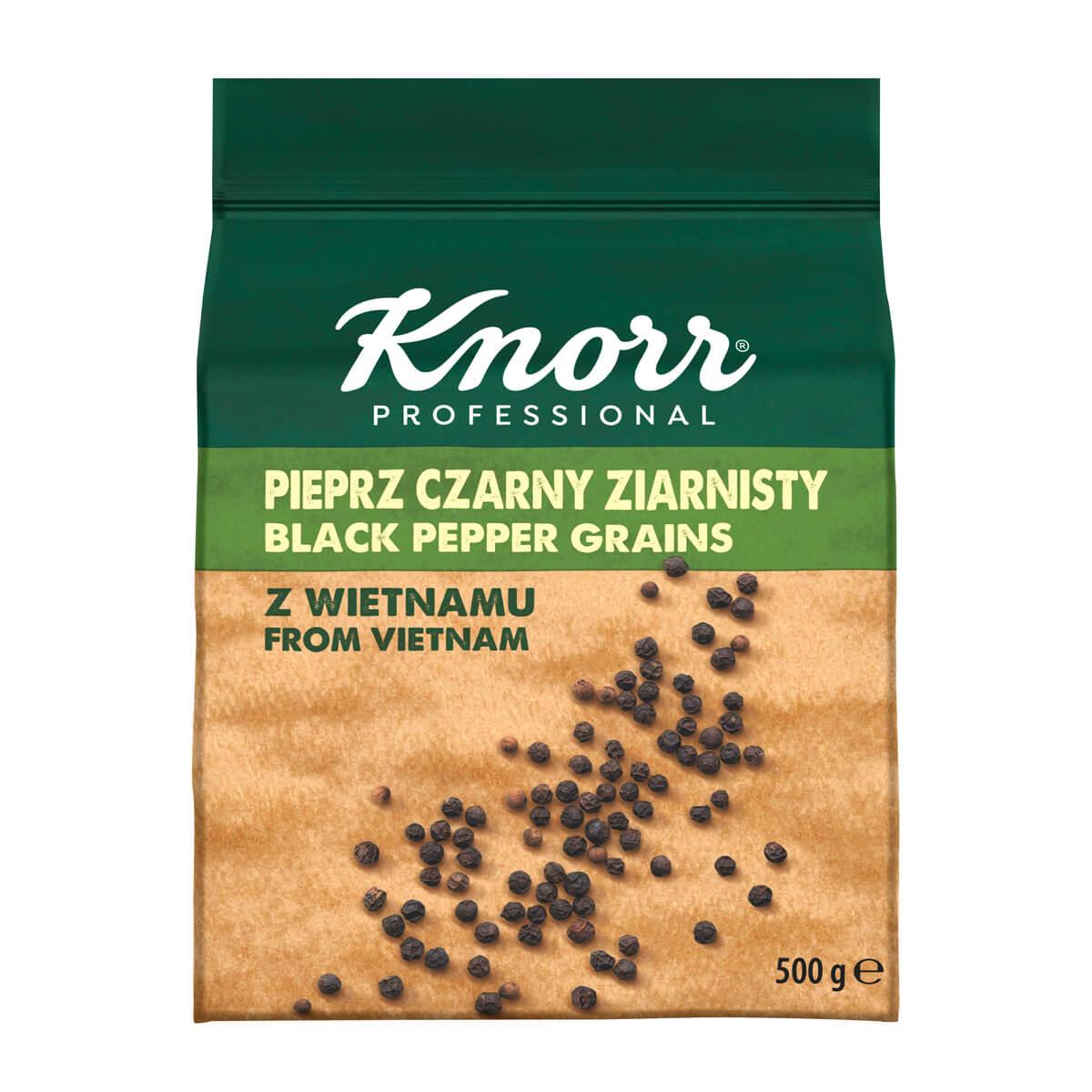 """KNORR Черен пипер на зърна - """"В ежедневието си използвам разнообразие от билки и подправки, затова е важно те да имат автентичен вкус"""""""
