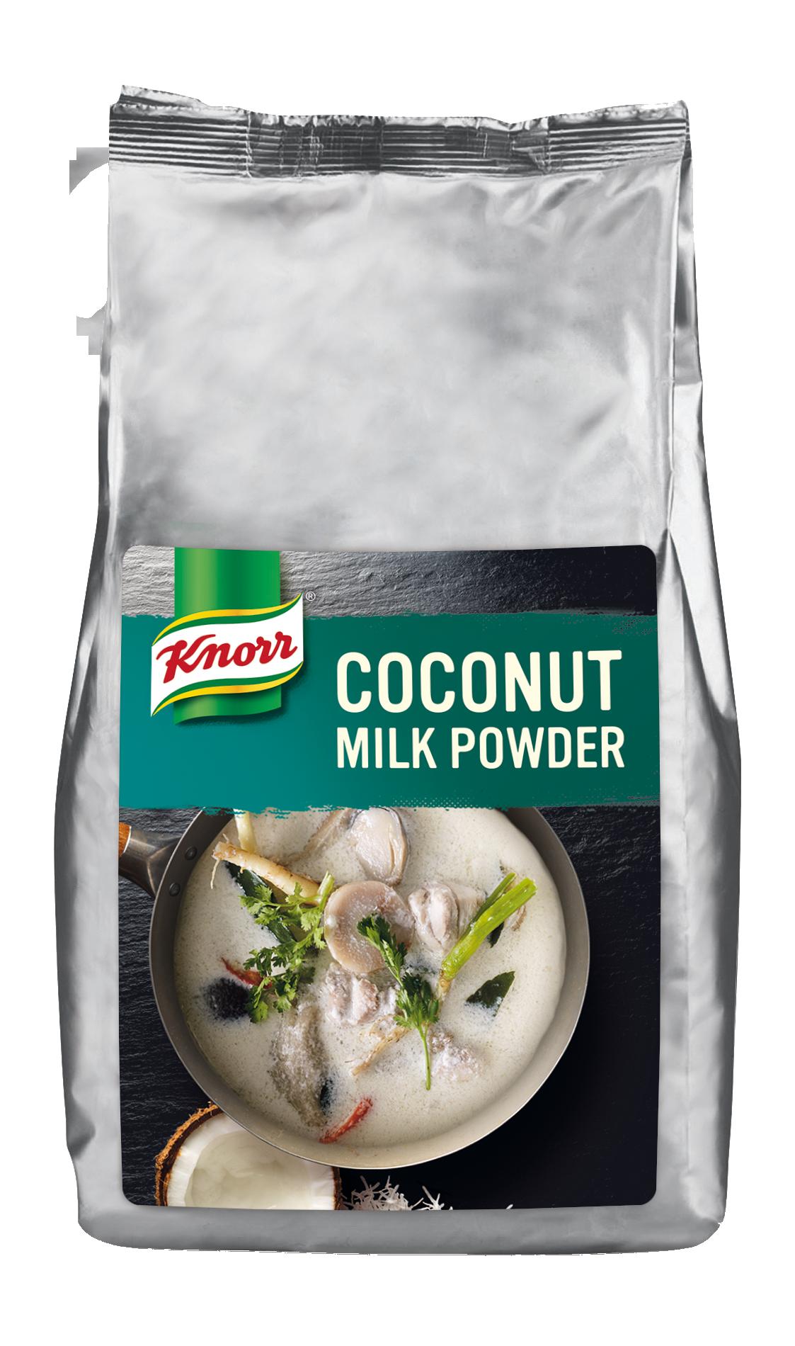 Knorr Кокосово мляко на прах - Автентичен вкус за основни ястия и десерти