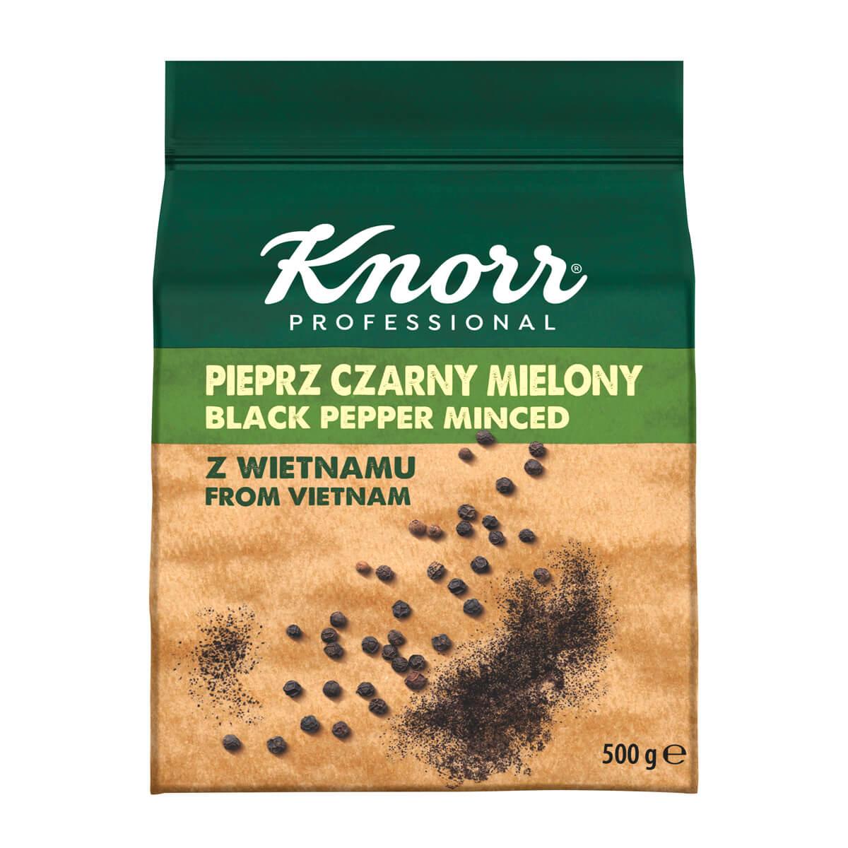"""KNORR Млян черен пипер - """"В ежедневието си използвам разнообразие от билки и подправки, затова е важно те да имат автентичен вкус"""""""