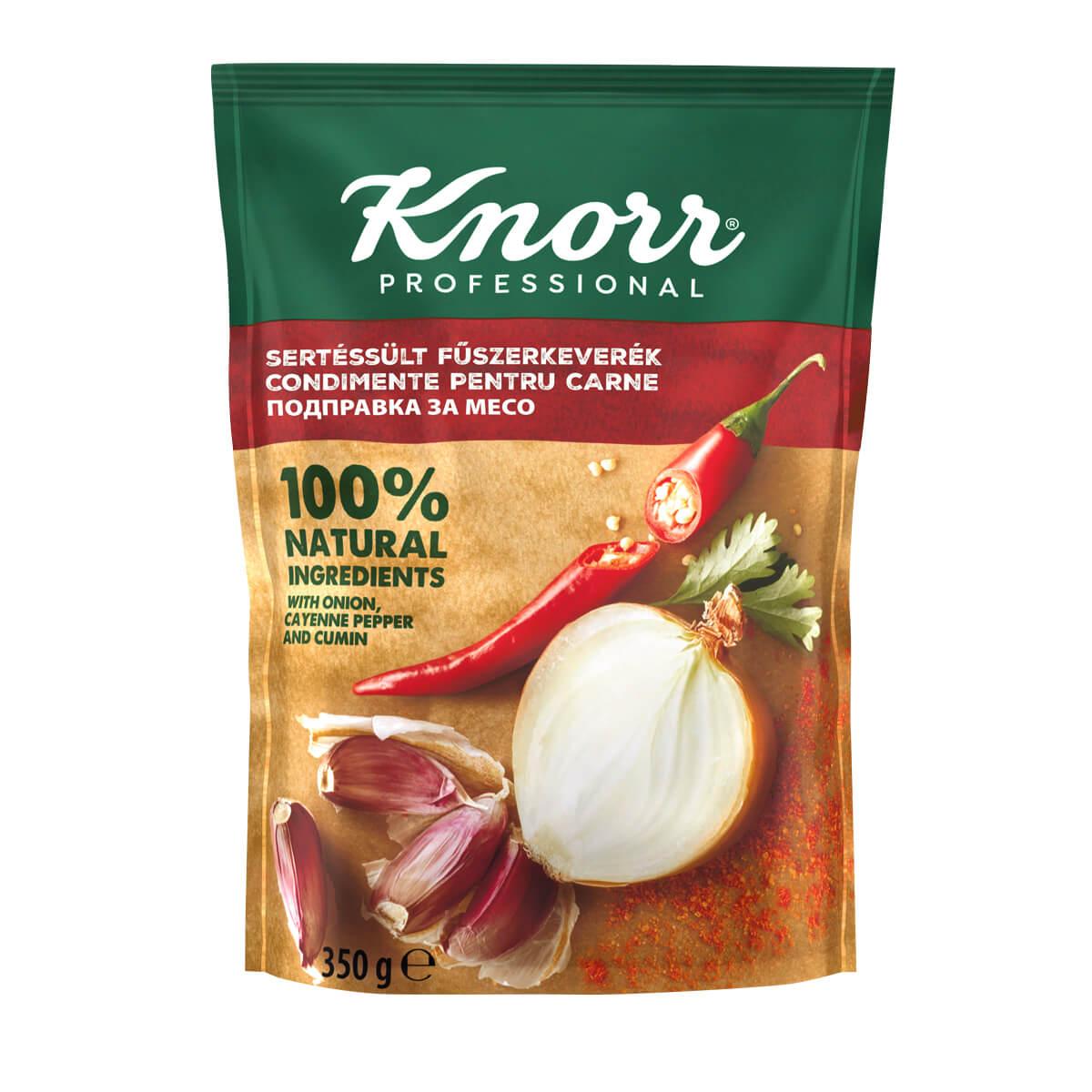 """KNORR Подправка за месо - """"В ежедневието си използвам разнообразие от билки и подправки, затова е важно те да имат автентичен вкус"""""""