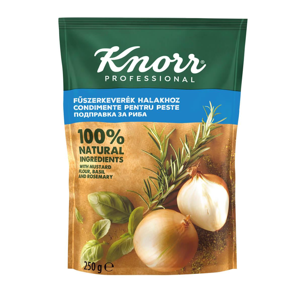 """KNORR Подправка за риба - """"В ежедневието си използвам разнообразие от билки и подправки, затова е важно те да имат автентичен вкус"""""""