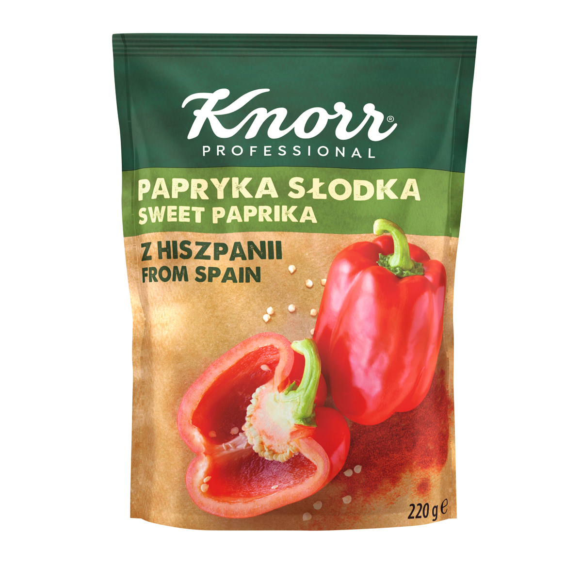"""KNORR Сладък червен пипер - """"В ежедневието си използвам разнообразие от билки и подправки, затова е важно те да имат автентичен вкус"""""""