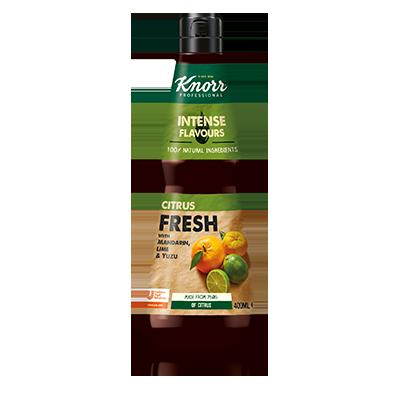 Knorr течна подправка за овкусяване Citrus Fresh - Естествени съставки и сложни аромати в бутилка