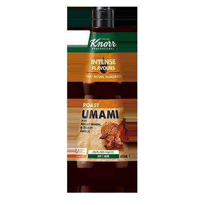Knorr течна подправка за овкусяване Roast Umami - Естествени съставки и сложни аромати в бутилка