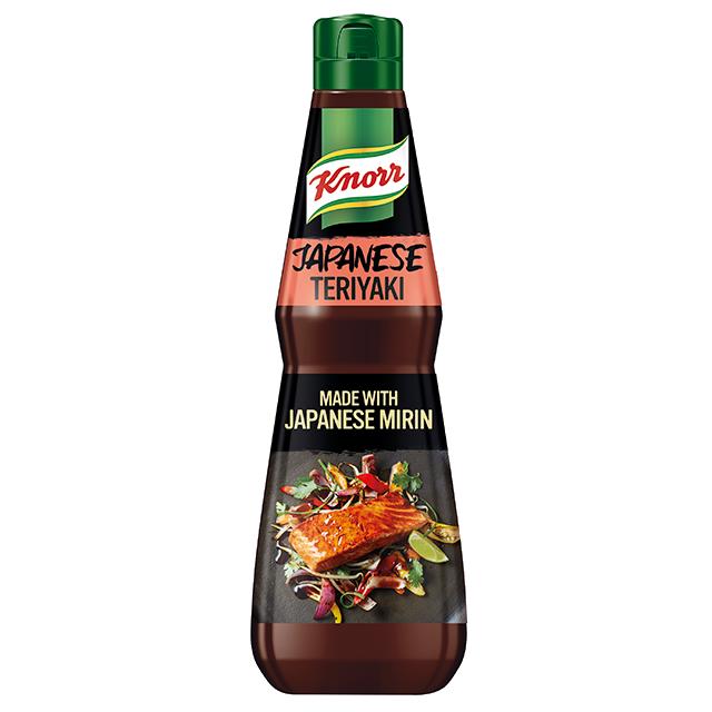 Knorr Японски терияки сос - Еспериментирай с  нова кухня, изполвай автентични вкусове и създавай нови ястия