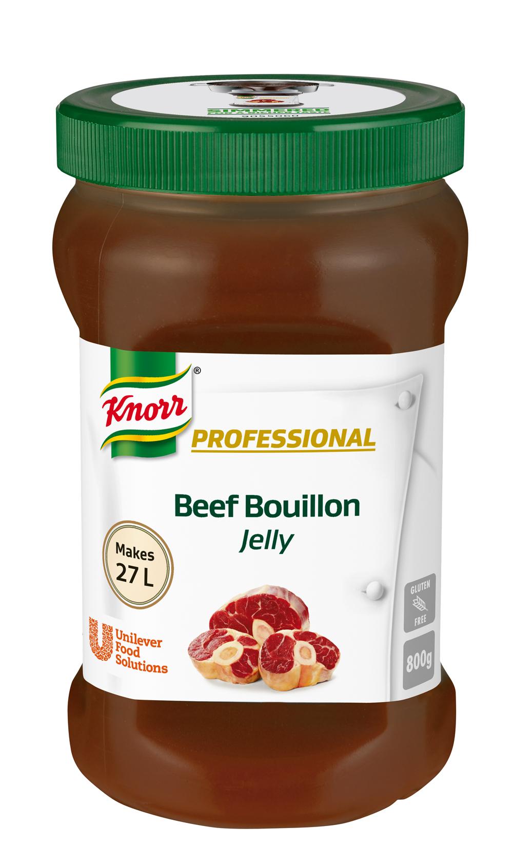 Knorr желиран телешки бульон - Висококачествен концентриран телешки желиран бульон
