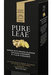PURE LEAF Чай с джинджифил и портокал 25 бр - Специалният чай започва със специалните чаени листа и завършва с перфектното поднасяне