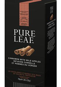 PURE LEAF ЧАЙ ЯБЪЛКА И КАНЕЛА 20бр - Специалният чай започва със специалните чаени листа и завършва с перфектното поднасяне