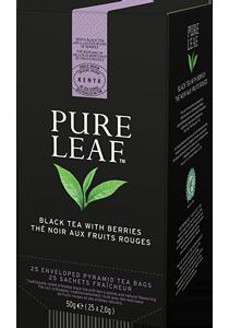 PURE LEAF ЧЕРЕН ЧАЙ С ГОРСКИ ПЛОДОВЕ  - Специалният чай започва със специалните чаени листа и завършва с перфектното поднасяне