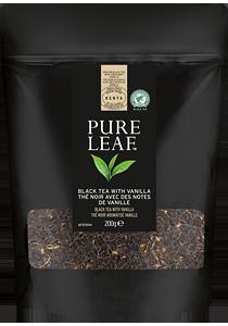 PURE LEAF Черен чай с ванилия 200г - Специалният чай започва със специалните чаени листа и завършва с перфектното поднасяне
