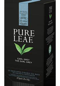 PURE LEAF ЪРЛ ГРЕЙ 25бр - Специалният чай започва със специалните чаени листа и завършва с перфектното поднасяне