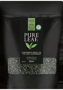 PURE LEAF Зелен чай Гънпаудър 200г - Специалният чай започва със специалните чаени листа и завършва с перфектното поднасяне