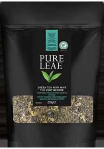 PURE LEAF Зелен чай с мента 200г
