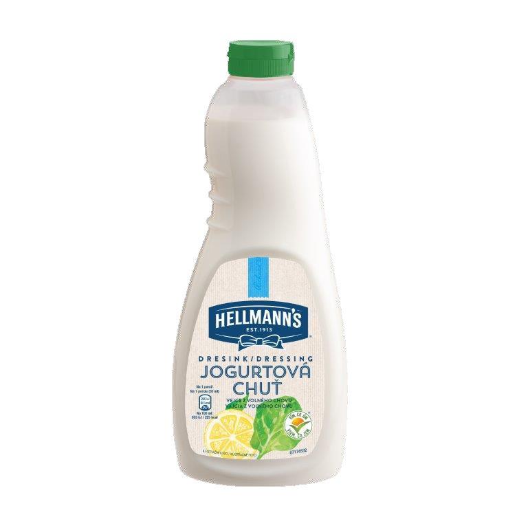 Hellmann's Dresink Jogurtová chuť 1 l -