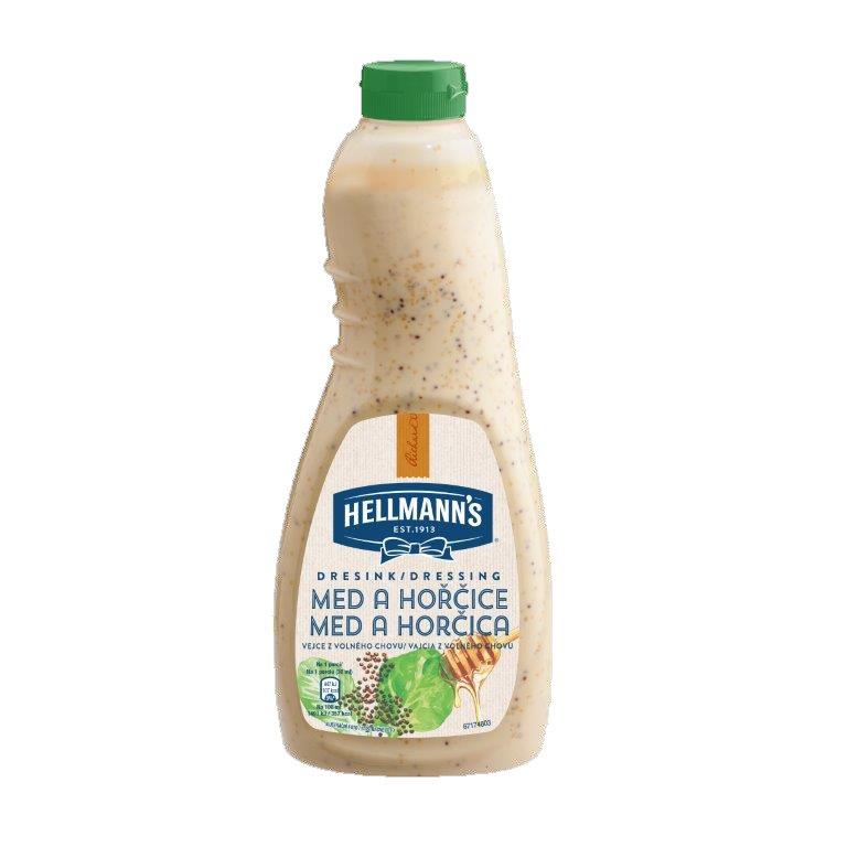 Hellmann's dresink Med a hořčice 1 l -