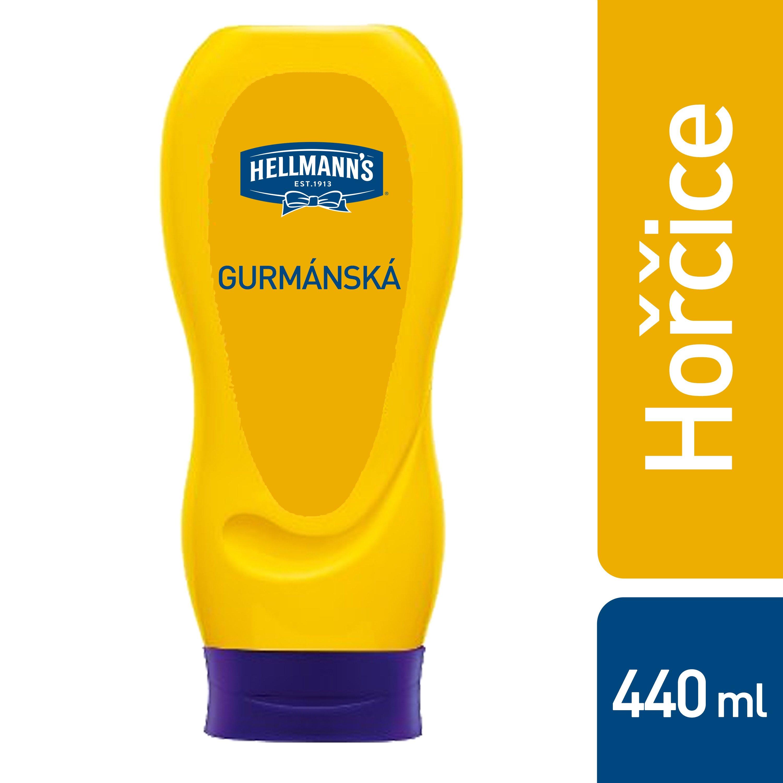 Hellmann's Gumanská hořčice 440g -