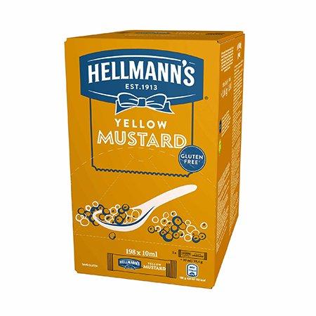 Hellmann's Hořčice - porcovaná 10 ml -
