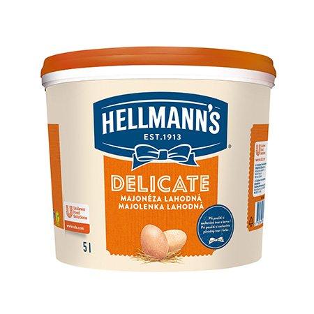 Hellmann´s Delicate majonéza 5 l