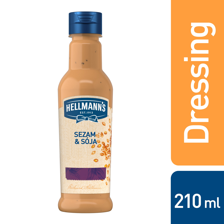 HELLMANN´S Dressing Sezam & Sója 210 ml
