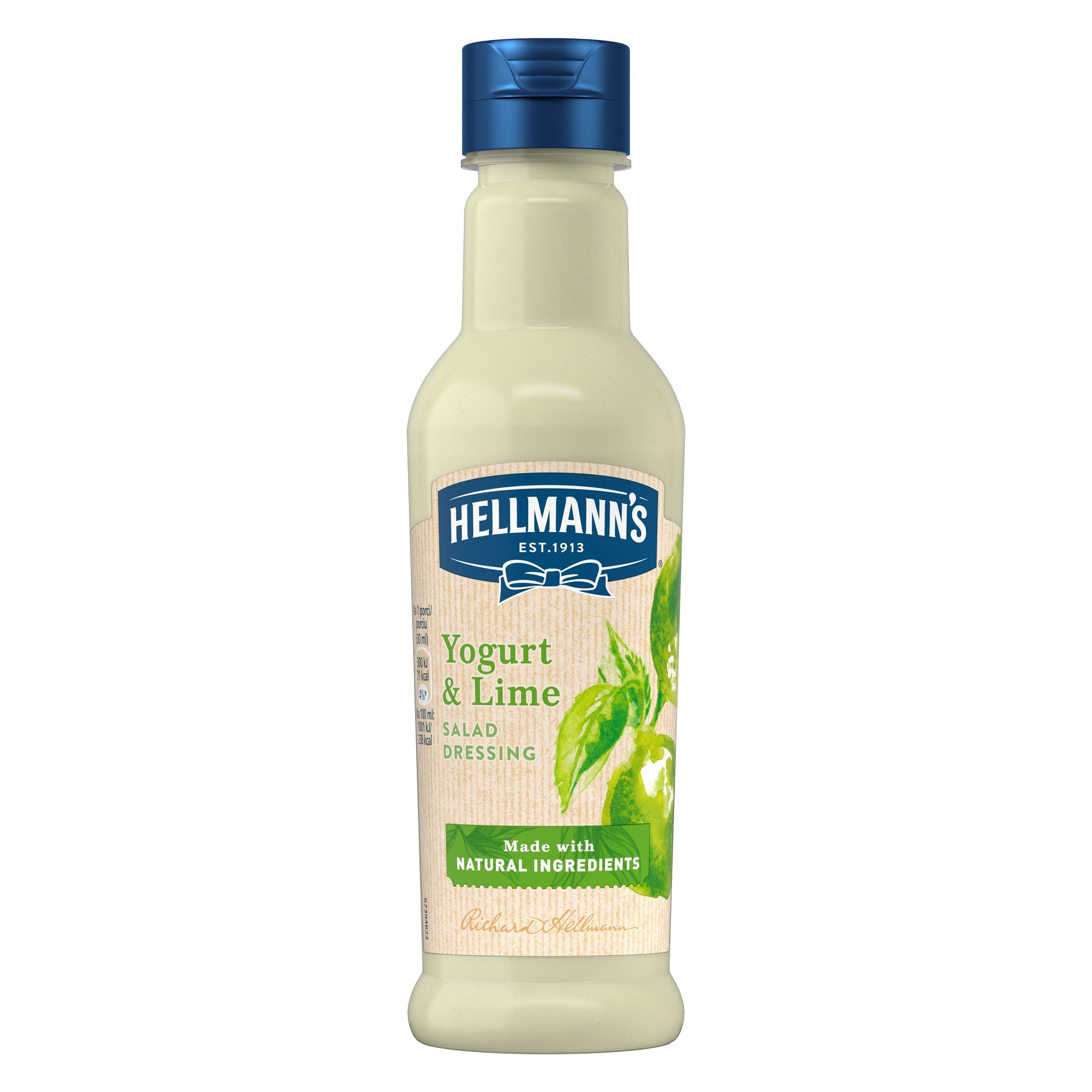 Hellmann´s Jogurt a limetka dresink 210 ml