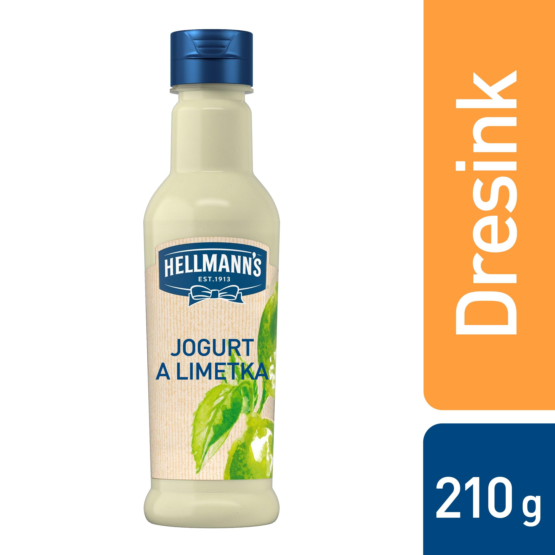 Hellmann´s Jogurt a limetka dresink 210 ml -