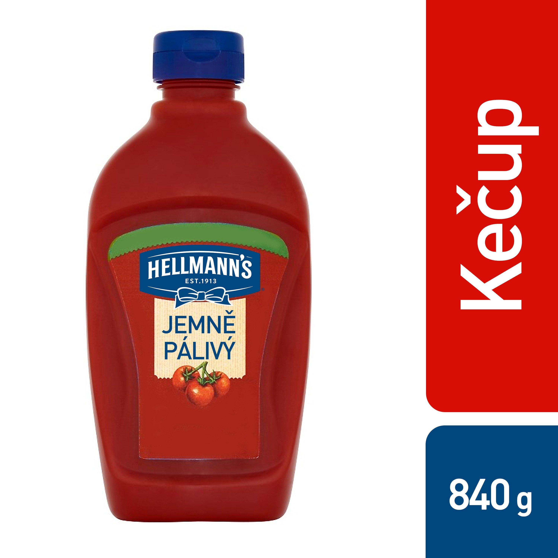 Hellmann´s Kečup Jemně pálivý 825 g -