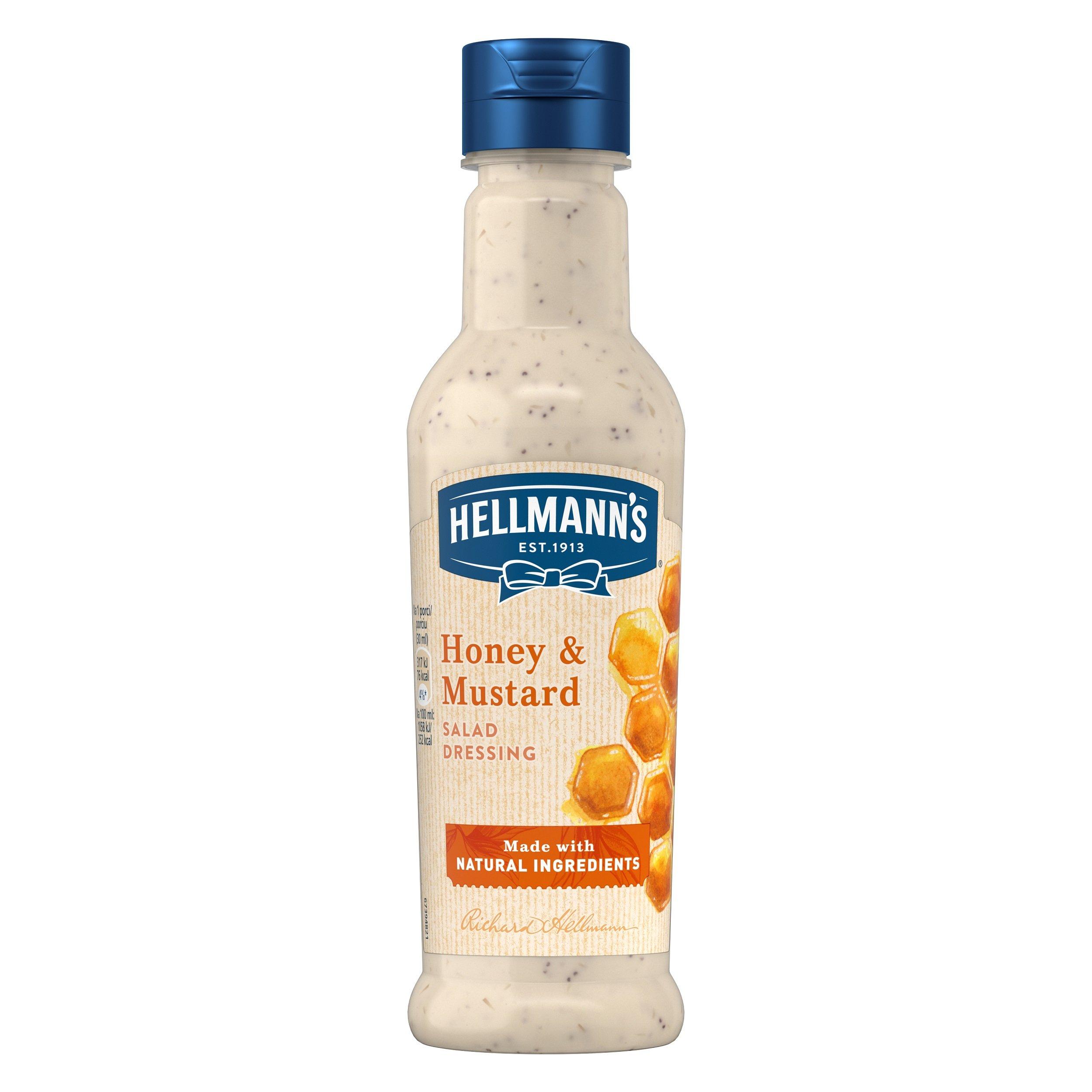 Hellmann´s Med a hořčice dresink 210 ml