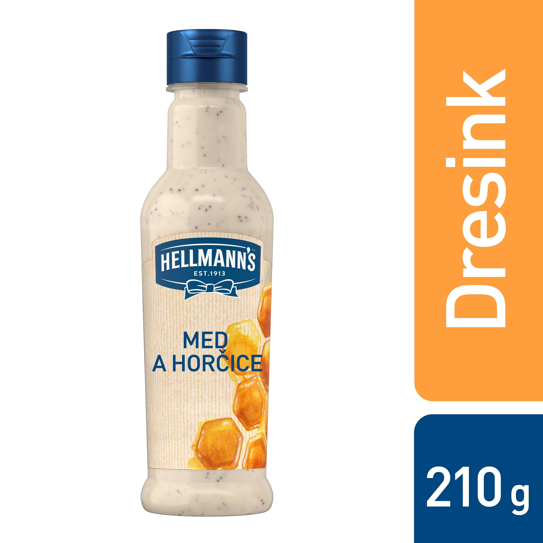 Hellmann´s Med a hořčice dresink 210 ml -