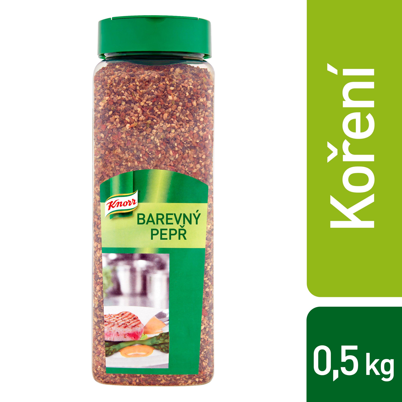 Knorr Barevný pepř drcený 0,5 kg