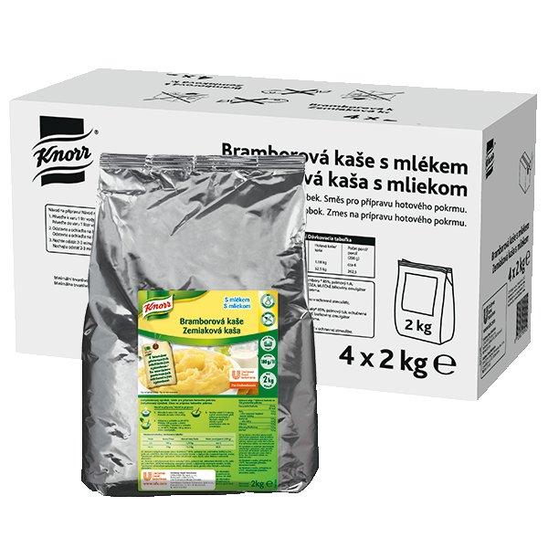 Knorr Bramborová kaše s mlékem 8 kg (4 x 2 kg)