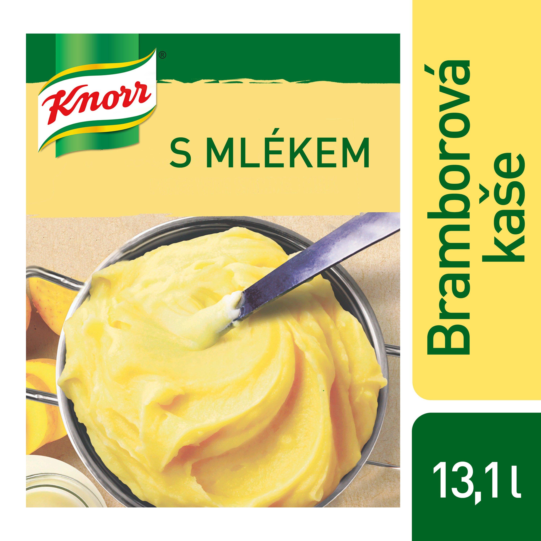 Knorr Bramborová kaše s mlékem 8 kg (4 x 2 kg) -