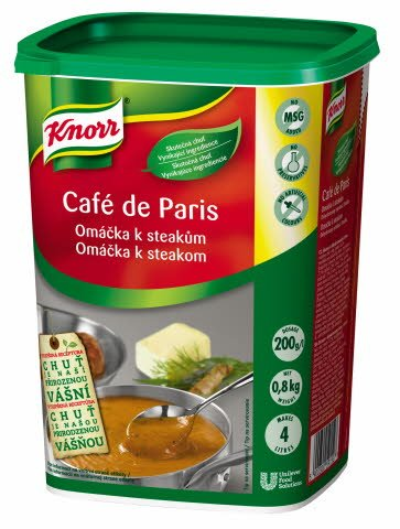 Knorr Café de Paris - omáčka ke steakům 0,8 kg