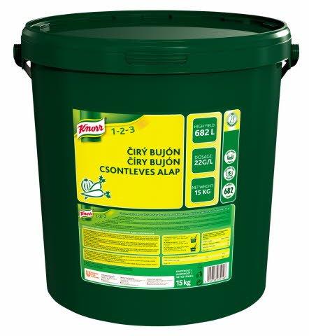 Knorr Čirý bujón 15 kg