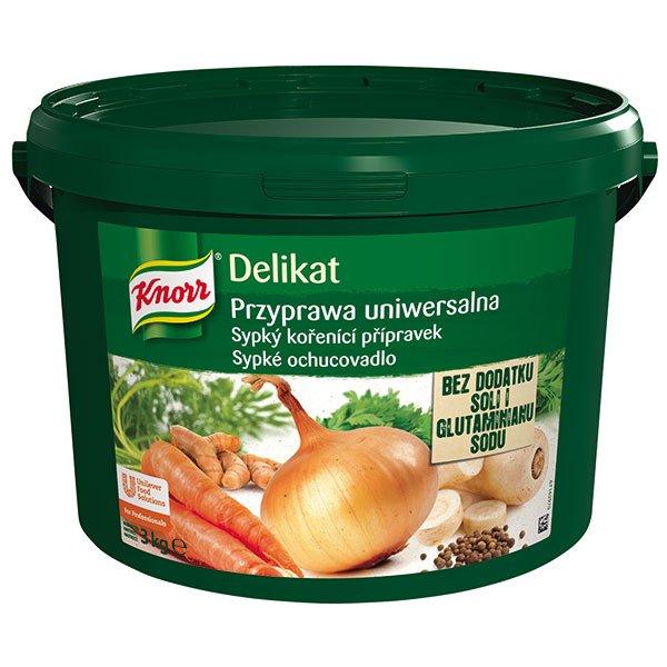 Knorr Delikat Kořenicí přípravek bez přídavku soli 3 kg