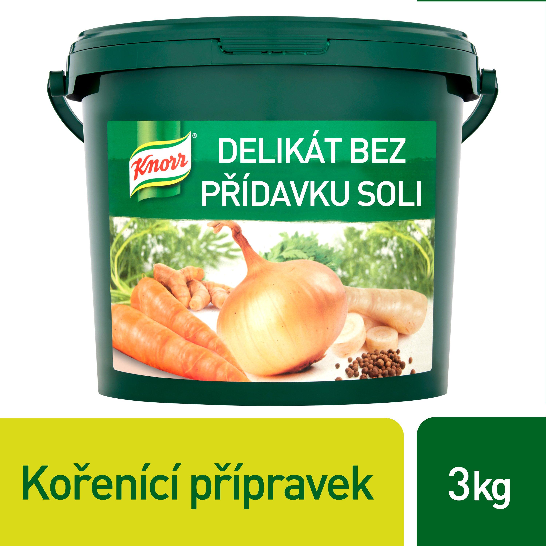 Knorr Delikat Kořenicí přípravek bez přídavku soli 3 kg -
